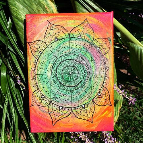 Trippy Mandala
