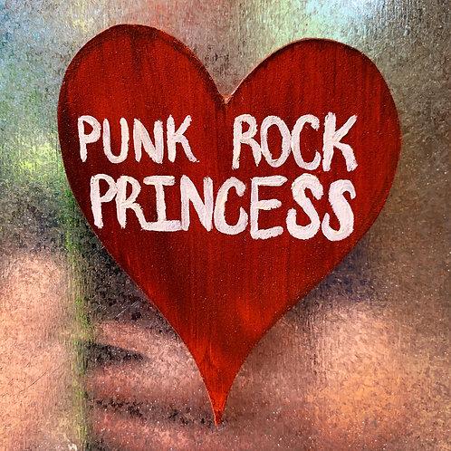 Punk Rock Princess Magnet