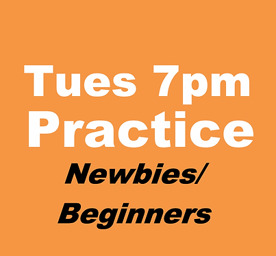 Newbies/Beginners Practice Group (Jan-Tuesdays 7pm)