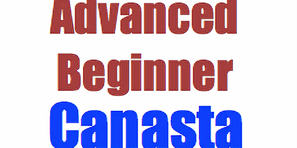 Canasta:  Advanced Beginner Course (5 Thursdays at 2pm)