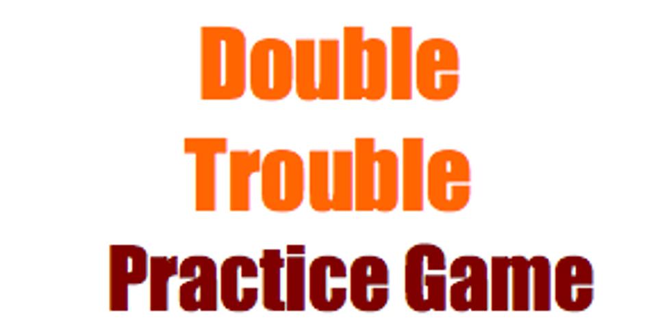 Bridge: Double Trouble Practice Game: 18 boards