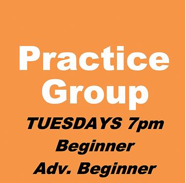 Bid/Play Practice Group (Nov-Tuesdays 7pm)