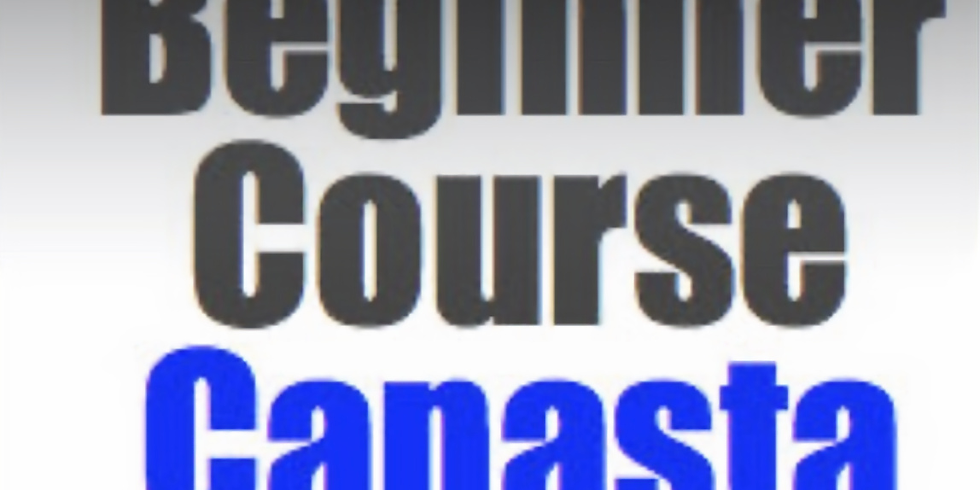 Canasta: Beginner Course (5 Wednesdays at 6:30pm)