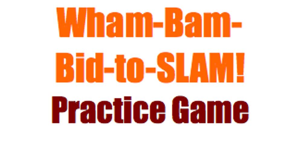 Bridge: SLAM! Practice Game: 18 boards  (1)