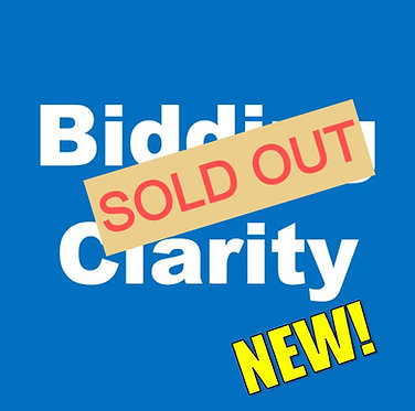 Bidding Clarity: Stop the confusion!  (Mar-Wed 2:30pm)