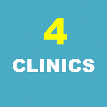 ANY (4) Clinics (Tues & Thurs- times vary)