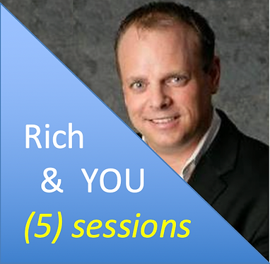 (5) Private Sessions with Rich (custom)