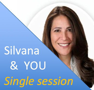 (1) Private Session with Silvana (custom)