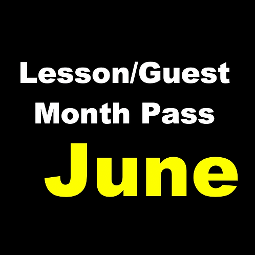 June Lesson /Guest Monthly Pass