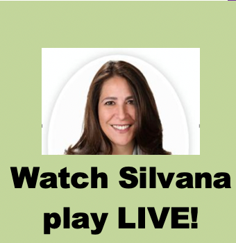 Watch Silvana play- LIVE! (Mar 10th 12:30pm EST)