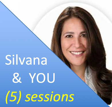 (5) Private Sessions with Silvana (custom)