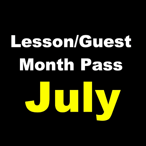 July Lesson/Guest Monthly Pass