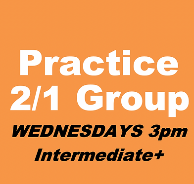 2/1 Bid/Play Practice Group (Nov-Wed 3pm)