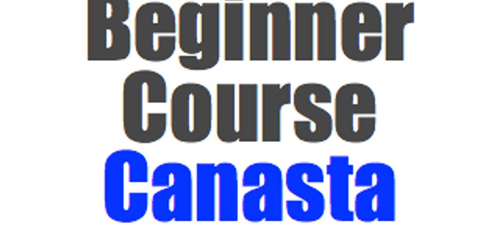 Canasta:  Beginner Course (5 Thursdays at 2pm)