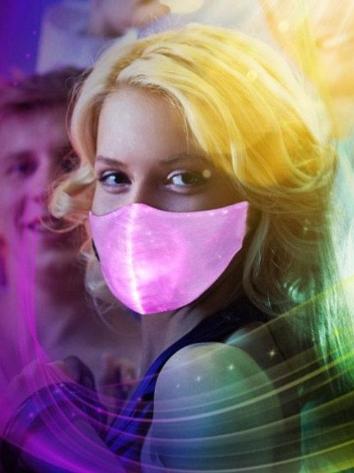 RAVE PARTY. Light Up Face Mask