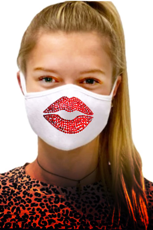 BIG SMOOCH. Organic Cotton Mask
