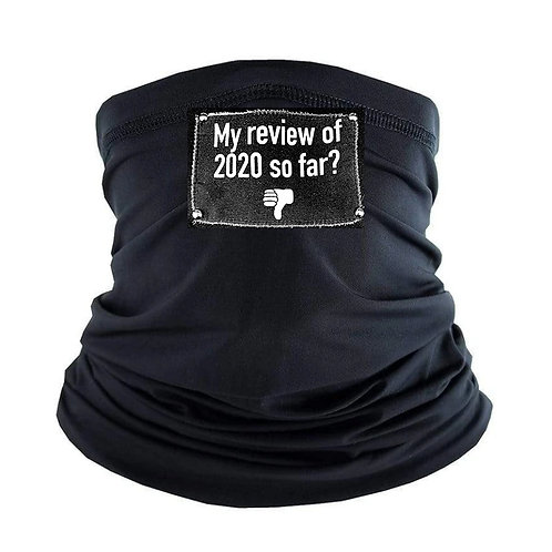 REVIEW. Gaiter Face Mask