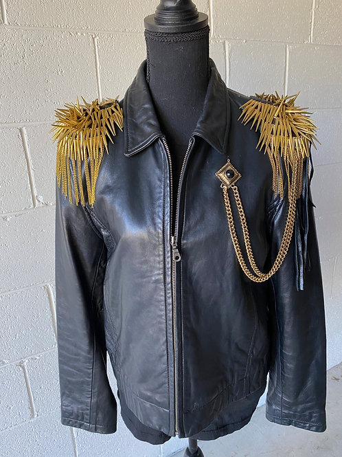 SARGE. Lambskin leather jacket