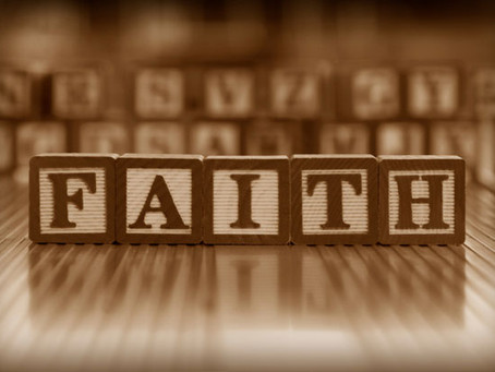 """Faith"" - What is it?"