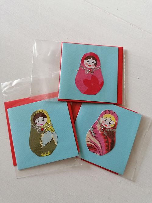 Mini carte Matriochka