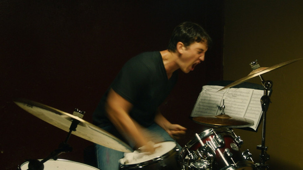Whiplash drummer frustrated with practicing