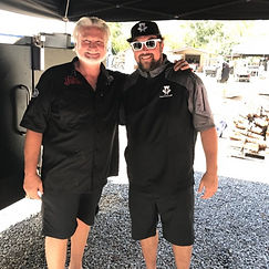 Josh Cooper and Myron Mixon World Champion BBQ