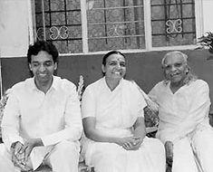 BKS, Geeta and Prashant IYENGAR