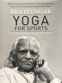 Yoga for sport, BKS Iyengar