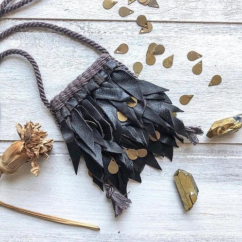 Lambskin leather necklace kit