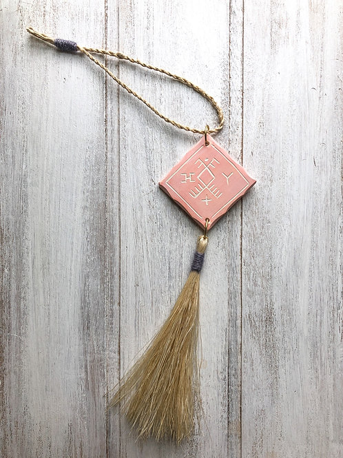 50 x ceramic tile tassel for Amy risley