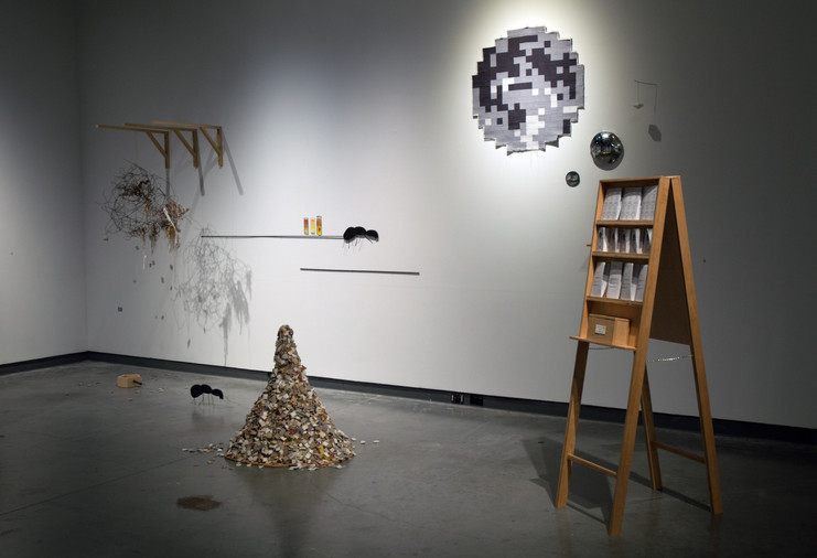 Rituial Objects Installation
