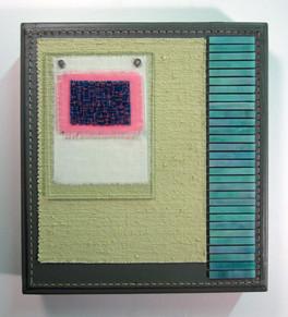 Sewn Mosaic on Box