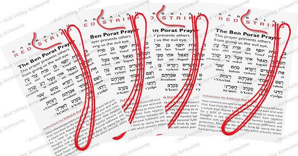 4 Kabbalah Red String-Free Shipping