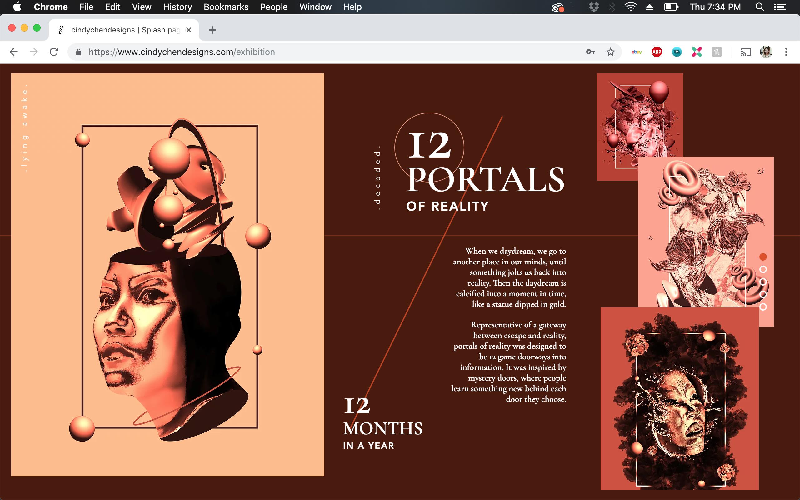 Exhibition Page P1