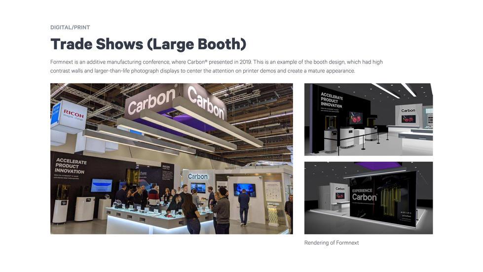 Small Trade Show Design Example