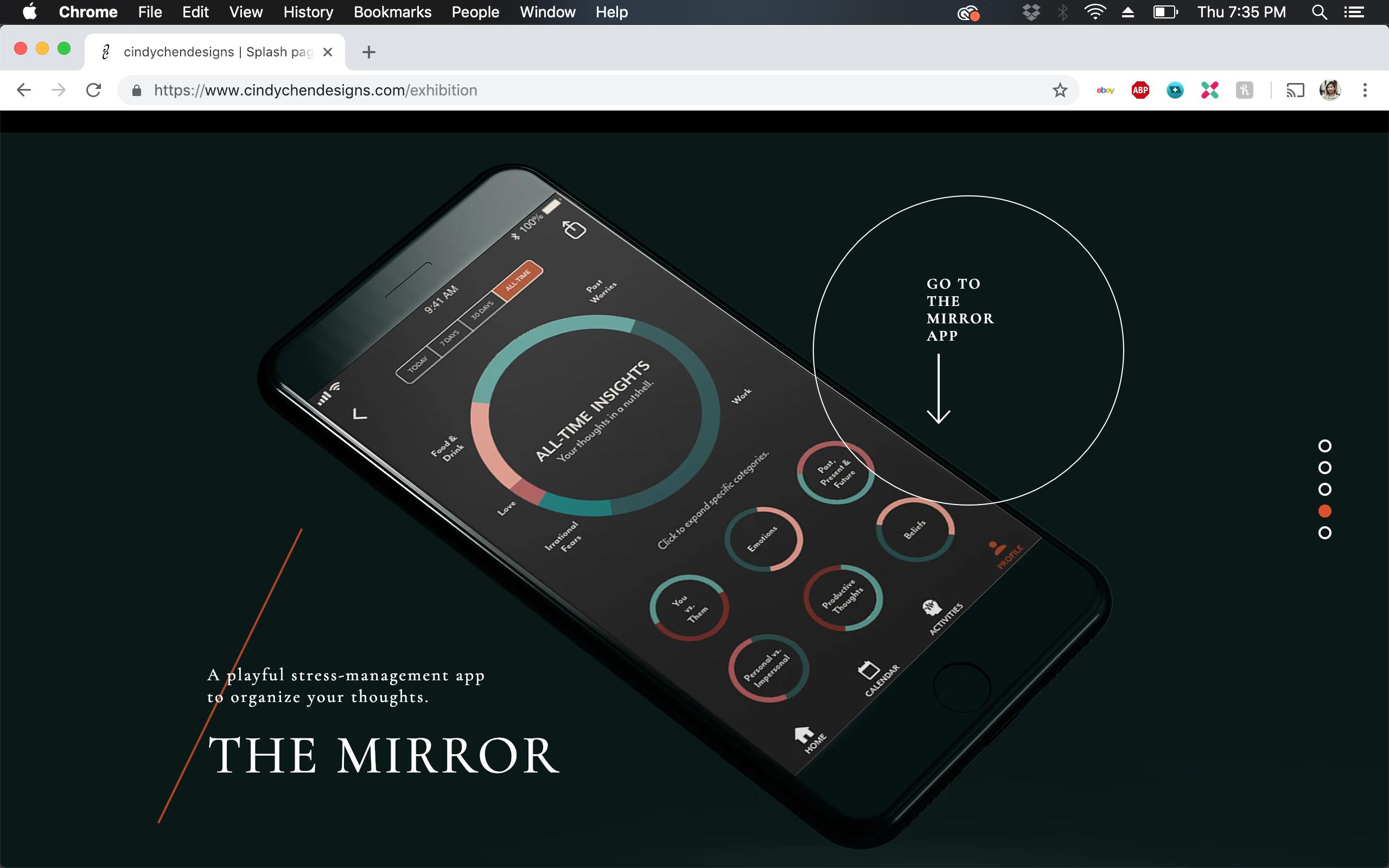 Mirror App Promo
