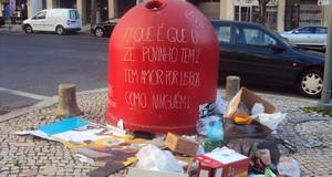 O amor do Zé Povinho por Lisboa