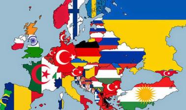 As segundas maiores nacionalidades nos países da Europa