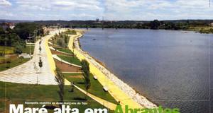 Maré alta em Abrantes com o Aquapolis