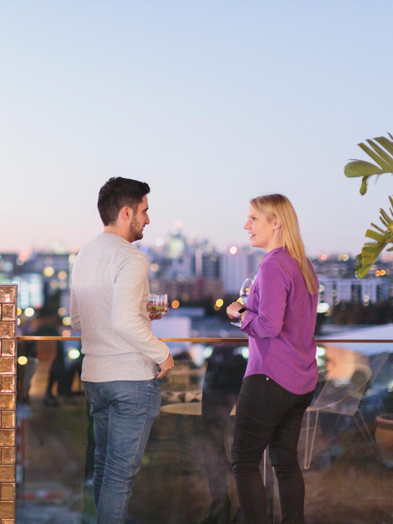 Heated Rooftop Terrace