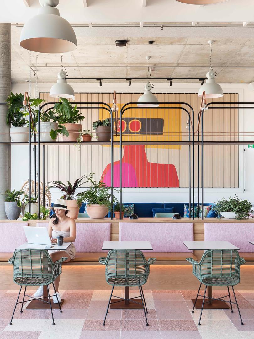 Citadines Connect Restaurant Seating