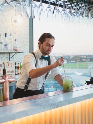 Stylish Cocktail Bar