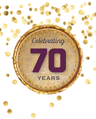 Celebrating 70 years medal.png