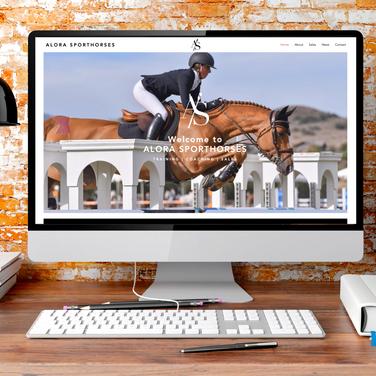 Alora Sporthorses Website