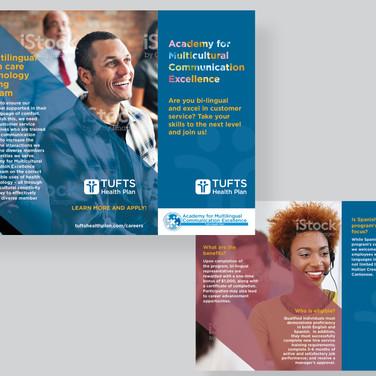 Tufts Health Plan Trifold Design