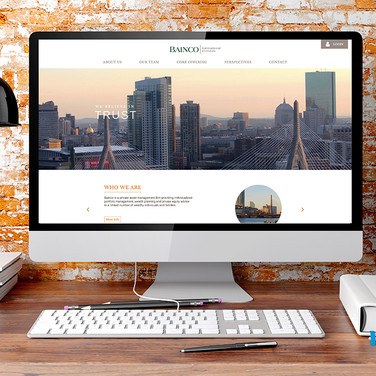 Bainco International Investors Website