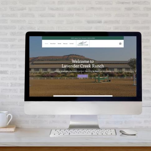 Lavender Creek Ranch Website