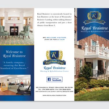 Senior Care Trifold brochure