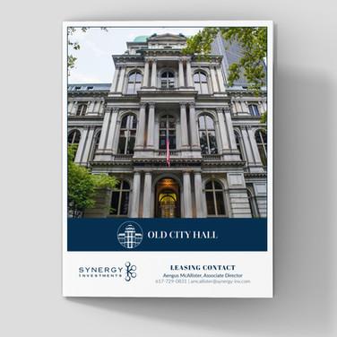 Old City Hall Bifold Brochure