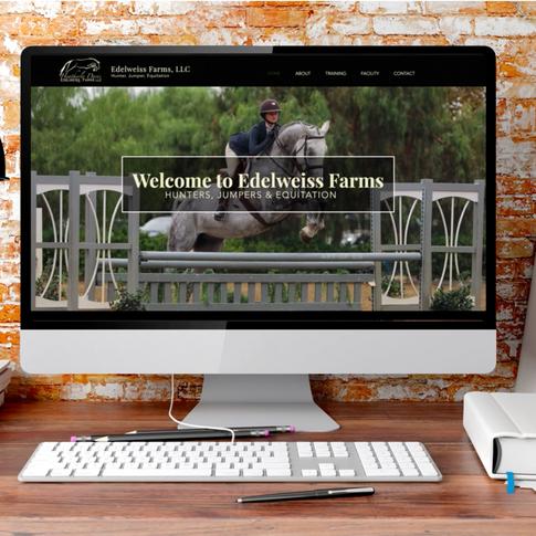 Edelweiss Farms Website